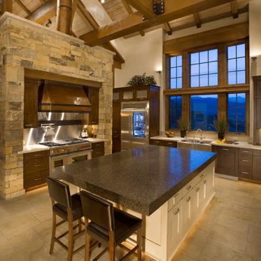 Edwards Mountain Retreat Kitchen